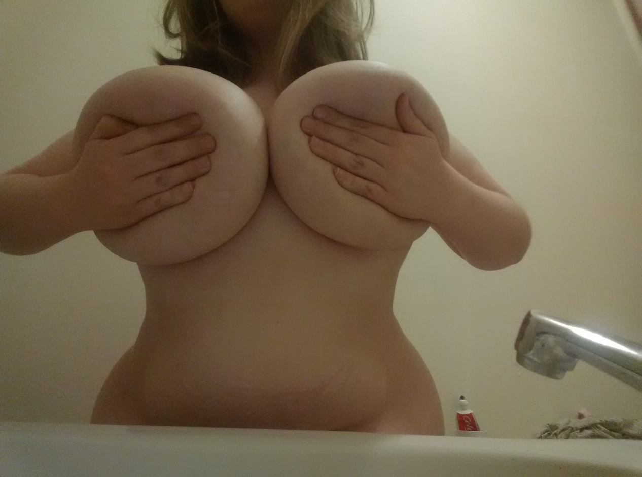 Mexican Teen with Natural huge Boobs!